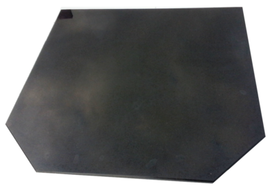 Black Granite Slab Hearth