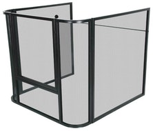 Mesh Nursery Guard Fire Screen JC2838SBK