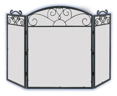 3 Panel Fire Screen JC380LBK